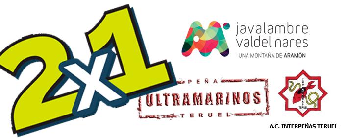 2×1 en Aramon Valdelinares y Javalambre